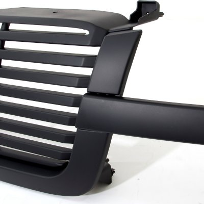 Chevy Silverado 2500hd 2003 2004 Black Billet Grille
