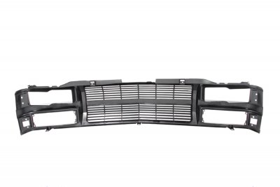 Chevy 1500 Pickup 1994-1998 Black Billet Grille