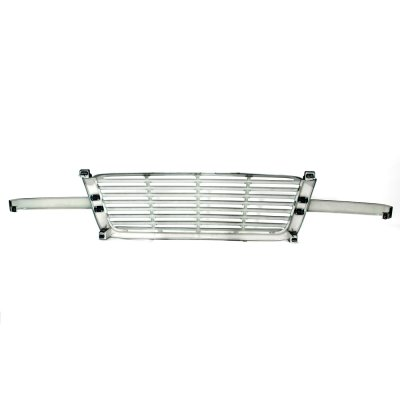 Chevy Silverado 3500 2003-2004 Black Billet Grille