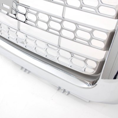GMC Sierra 2007-2013 Chrome Front Grill