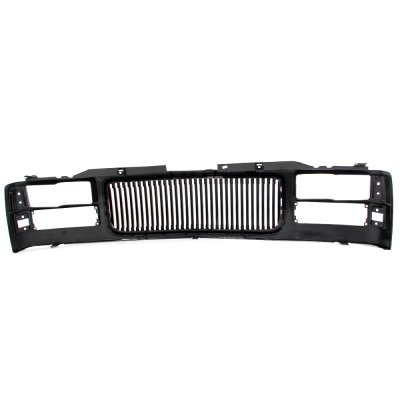 GMC Sierra 2500 1994-2000 Front Grill Black Vertical Bars