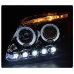 Ford Expedition 1997-2002 Clear Halo Projector Headlights with LED Eyebrow