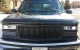 1999 Chevy Tahoe Black Grill and Halo Projector Headlights LED Bumper Lights Customer Photo