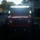 Jeep Wrangler 2007-2016 LED Light Bar and Dual Spot Beam LED Windshield Lights with Mounts Customer Photo